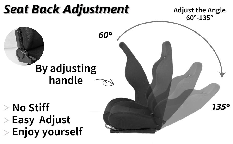 Adjust the angle