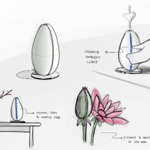 bloomy lotus bud ultrasonic diffuser
