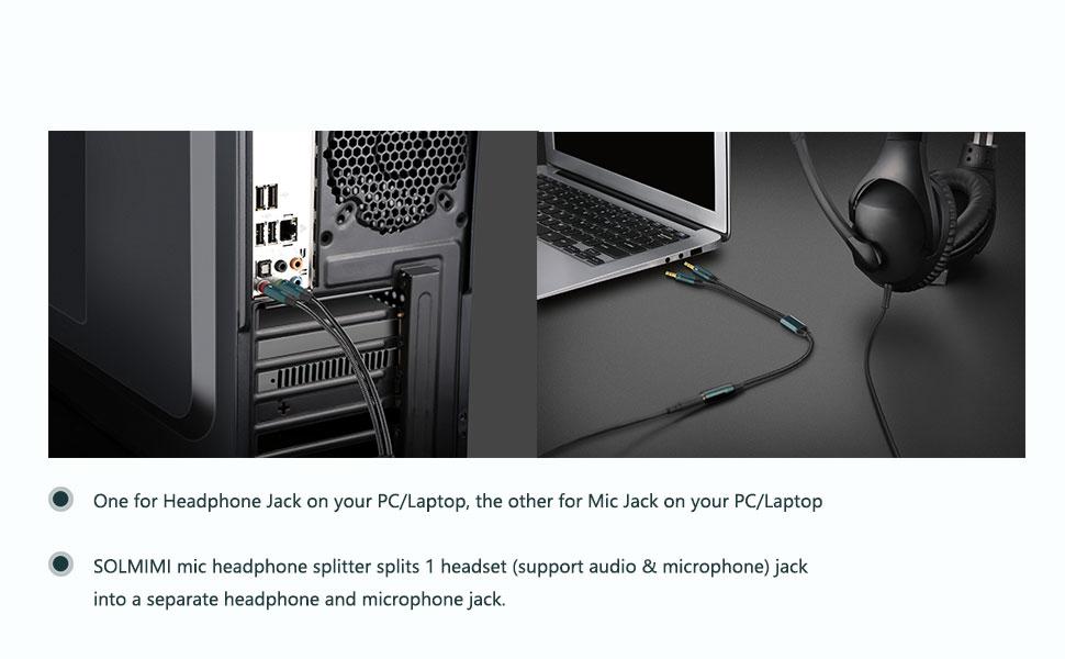 Headset Splitter for PC