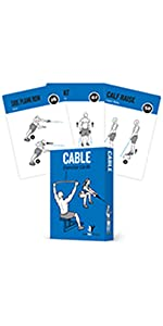 NewMe Fitness Cable Exercise Cards