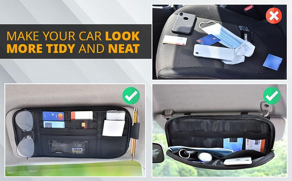 EcoNour Organizer and Storage Bag for Car