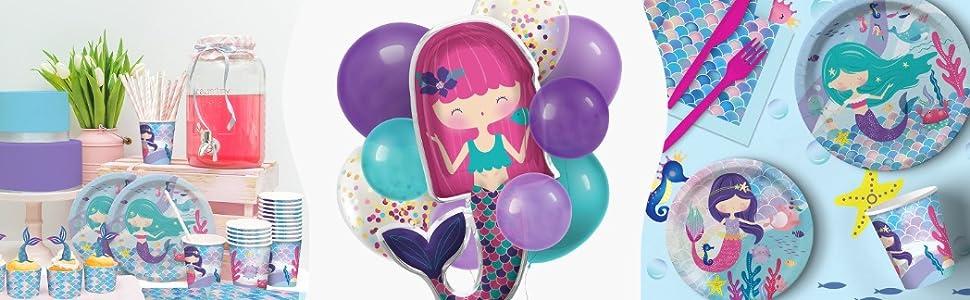 mermaid party supplies mermaid decorations
