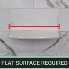 flat surface required