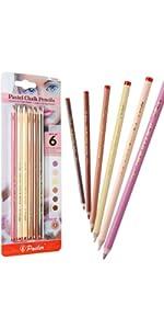 pastel chalk pencils