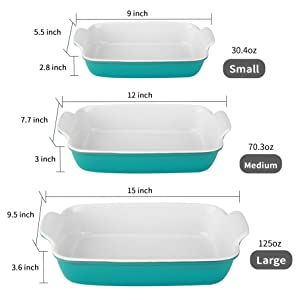 bakeware dishes