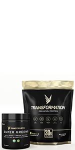 Transformation protein, super greens