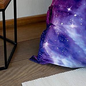 pouf galaxie impermeable interieur exterieur XXL pouf