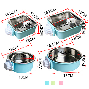 Crate Bowl Size