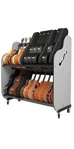 guitar case storage shelves