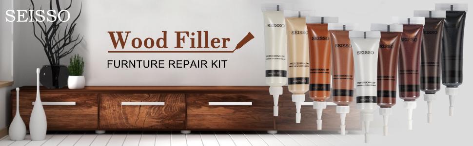 SEISSO Wood Filler FURNTURE REPAIR KIT
