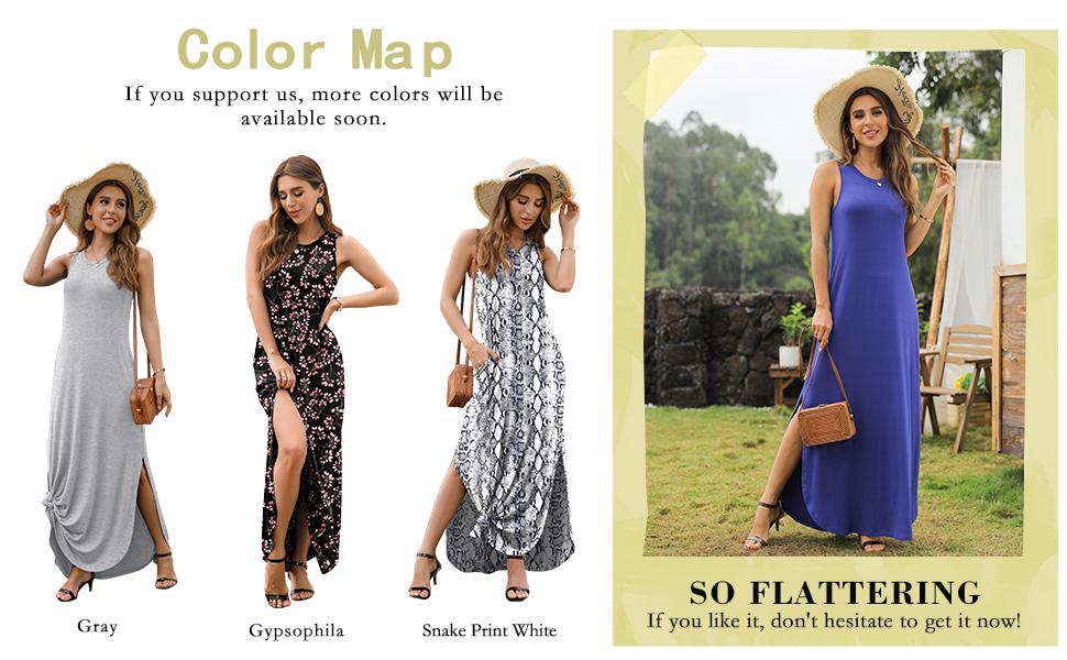 casual summer maxi dresses for women petite summer maxi dresses tank maxi dress for women summer