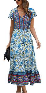 bohemain dress 1718