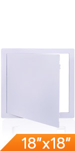 Plumbing Access Panel for Drywall Ceiling Reinforced Plastic Wall Doors Removable Hinged Panel