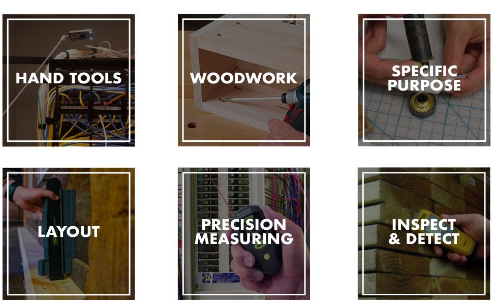 General Tools Categories