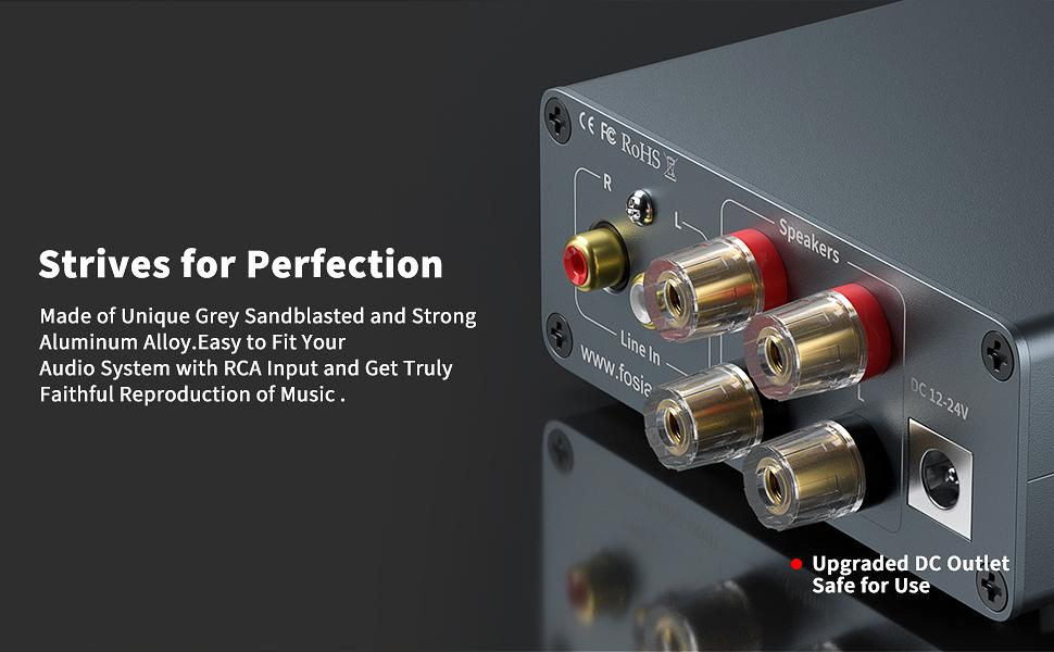 Mini Power Amplifier Fosi Audio TDA7498E