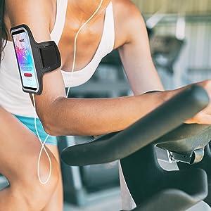 i2 gear running armband arm band phone holder sleeve workout run jogging jog sleeve elastic i gym
