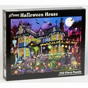 Halloween House Jigsaw Puzzle