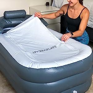 asseccories bathrub inflable hottub pilliw pvc alberca dinero juccuzi pequeñas grandes potable relax