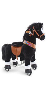 mechanical riding horse toy ride on pony