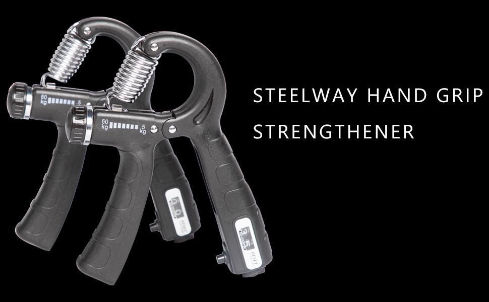 steelway hand grip trainer