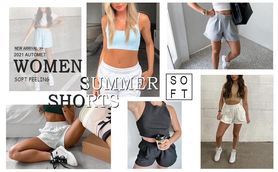 automet summer sweat shorts