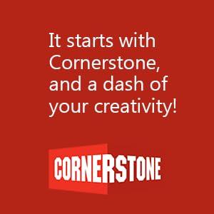Cornerstone copy block