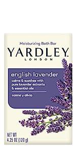 Yardley London English Lavender Bar Soap