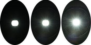 RUNACC Portable Ventilateur de Sol avec Lumière avec 3 Niveaux de luminosité
