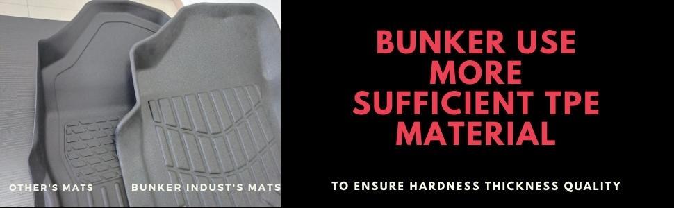 bunker floor mats