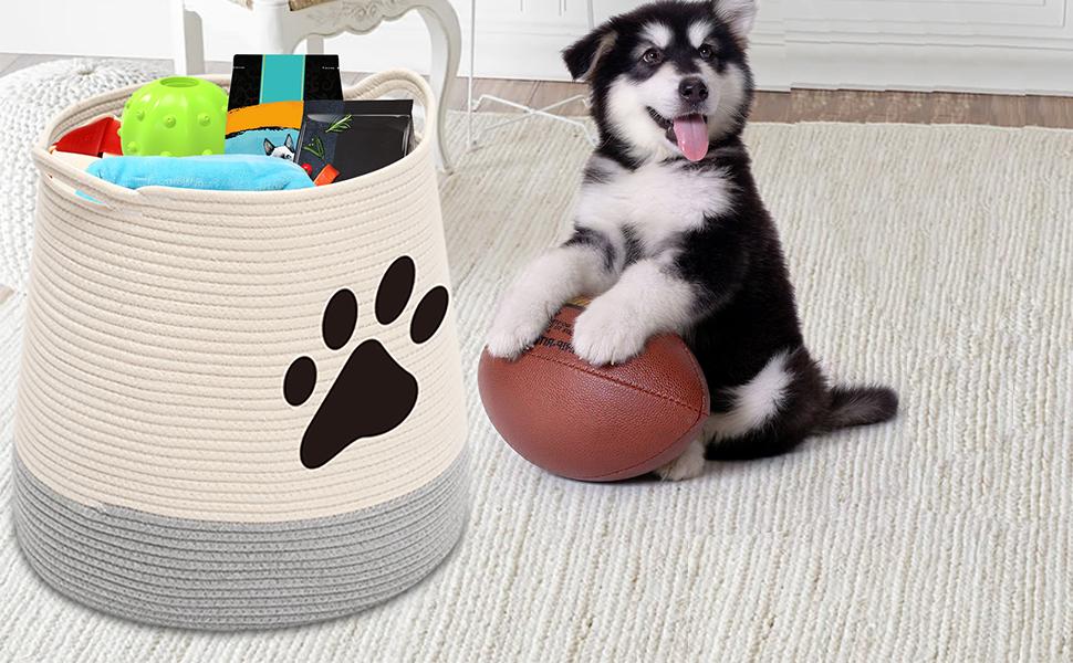 dog toy basket large