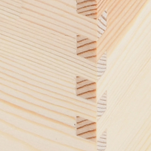 Strong mortise and tenon structure