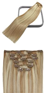 70g clip in hair extensions
