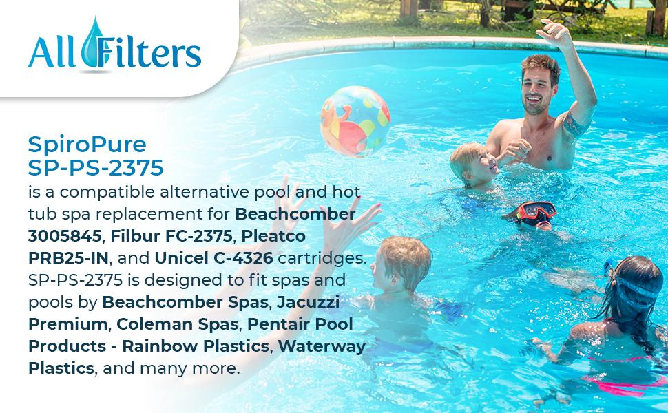 SP-PS-2375 Pool & Spa filter