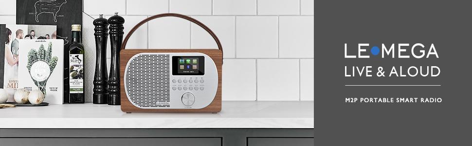 LEMEGA M2P WIFI-internetradio DAB FM-digitale radio