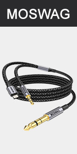 2 in 1 6.35mm audio cable