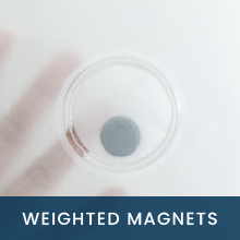 weighted magnets