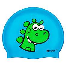 dino kids swim cap