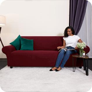 L-Shaped Sofa Slipcovers