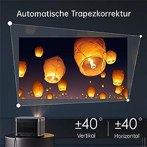 Horizon 1080P Heimprojektor
