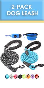dog leash pack