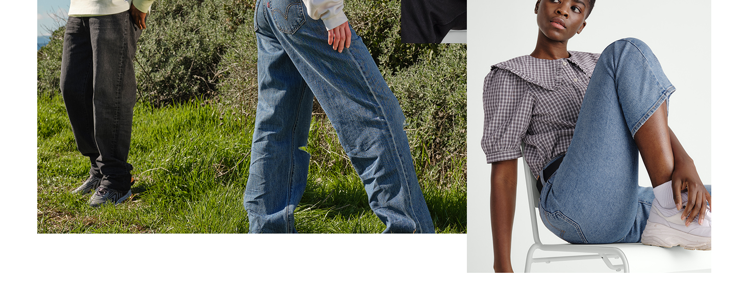 Levis on model imagery