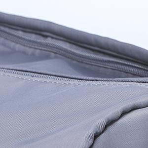 Hidden zipper design