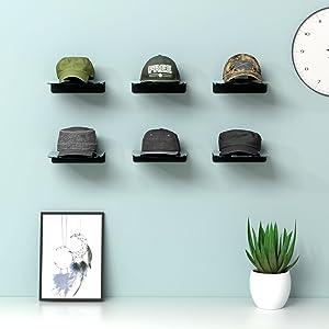 hat organizer wall mounted