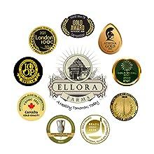 Global Gold Awards 2020 Ellora Farms Extra Virgin Olive Oil, Crete Greece