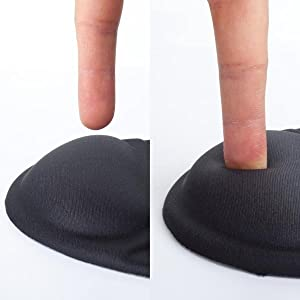 Mouse Pad with Wrist Support, Ergonomic Mouse Pad, Mouse Pad Wrist Support
