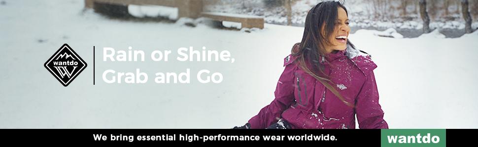 Women's Waterproof 3-in-1 Ski Jacket