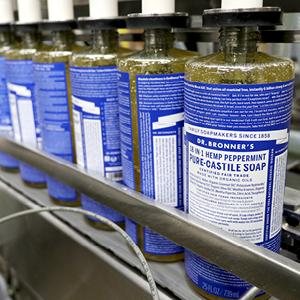 Peppermint liquid soap production line