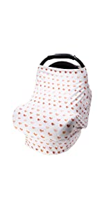 heart car seat cover