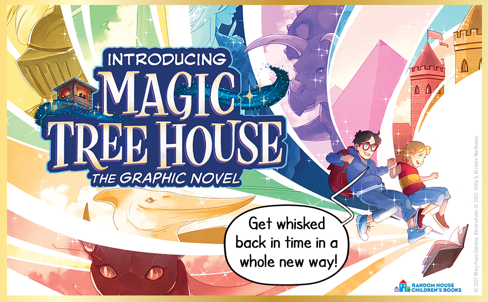Introducing Magic Tree House The Graphic Novel