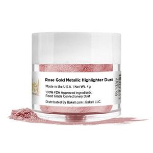 bakell highlighter luster dust, edible glitter, 100% edible glitter